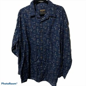 Woolrich Fly Fishing Long Sleeve Button Up Shirt